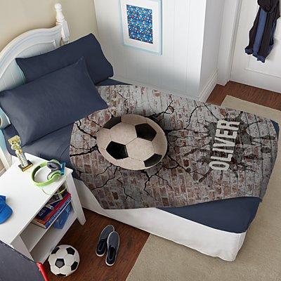 Sports Galore Plush Blanket