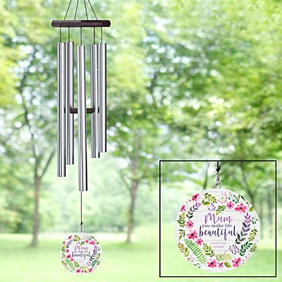 You Make Life Beautiful Wind Chime