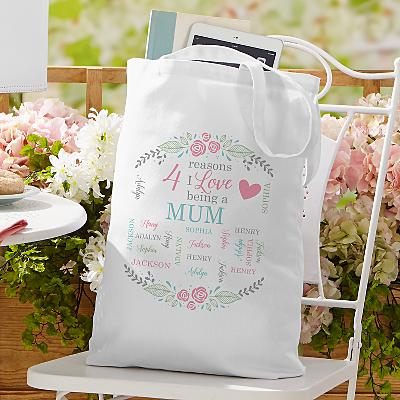 All The Ones I Love Tote Bag