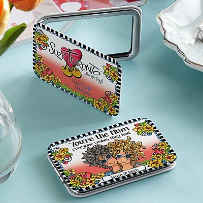 You're the Mum Everyone Wishes They Had Purse Mirror by Suzy Toronto