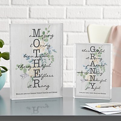 Amazing Mother & Granny Canvas
