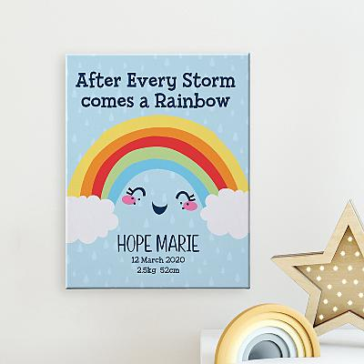 Rainbow Baby Canvas