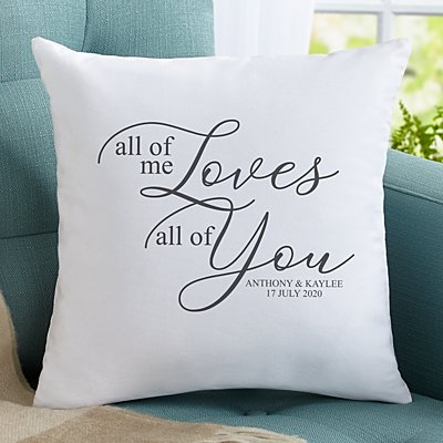 All of Me Loves All of You Sofa Cushion