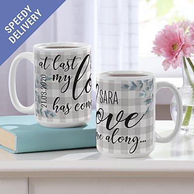 At Last Mug Set
