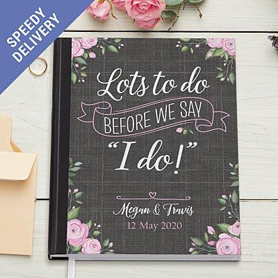 Bride's To Do Notebook