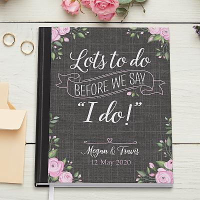 Bride's To Do Notebook