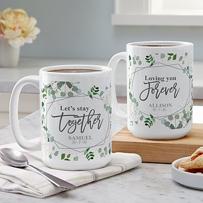Let's Stay Together Mug Set