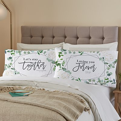 Let's Stay Together Pillowcase Set