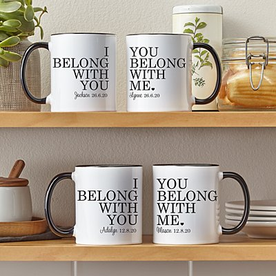 We Belong Together Mug Set