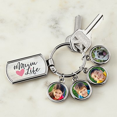 #Mum Life Photo Keyring