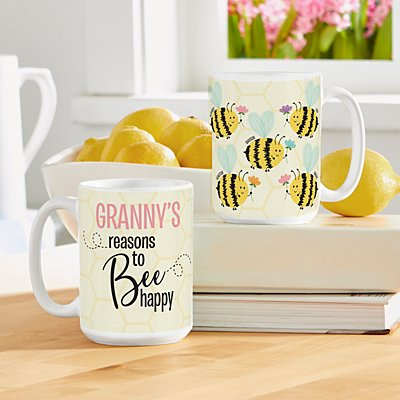 Reasons to Bee Happy Mug