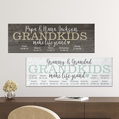 Make Life Grand Canvas