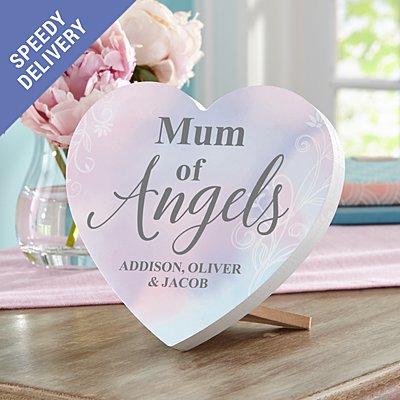 My Angel Mini Wooden Heart