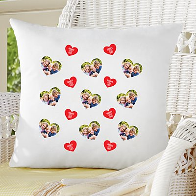 Love You All Around Photo Sofa Cushion