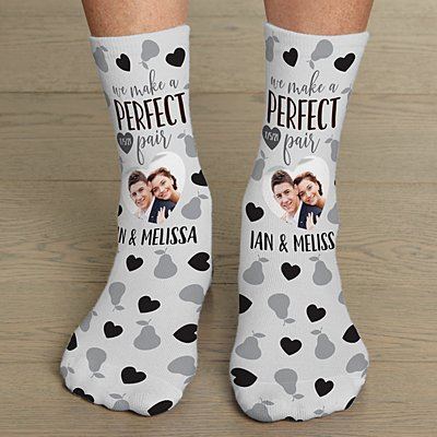 Perfect Pair Photo Socks