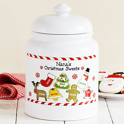 Christmas Sweets Treat Jar
