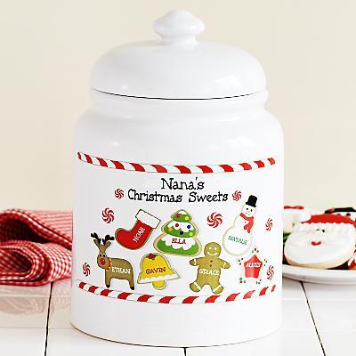 Christmas Sweets Treat Jar