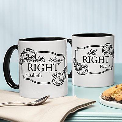 Right & Always Right Mug Set