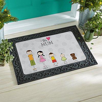 Tender Hearts Doormat