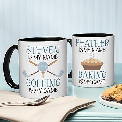 Name Game Hobby Mug