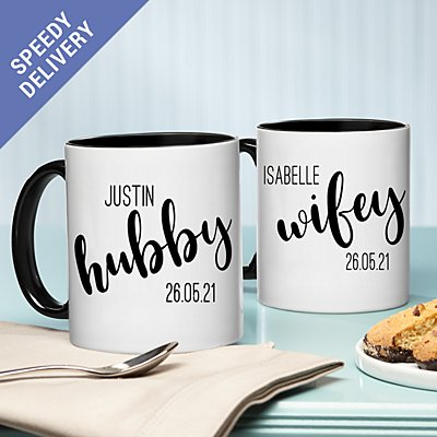 I Do, Me Too Mug Set