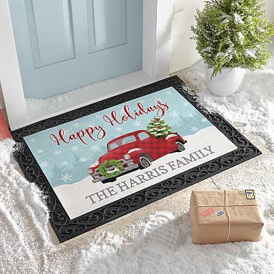 Classic Christmas Doormat