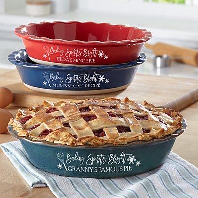 Baking Spirits Bright Pie Dish