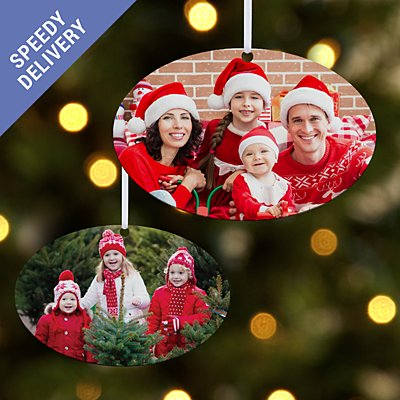 Picture Perfect Photo Oval Bauble