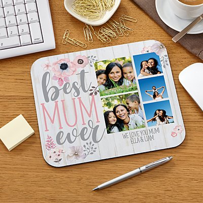 Best Mum Ever Photo Mouse Pad