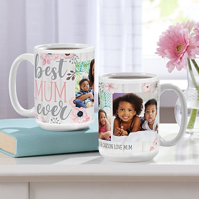 Best Mum Ever Photo Mug