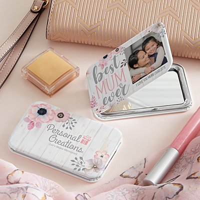 Best Mum Ever Photo Purse Mirror