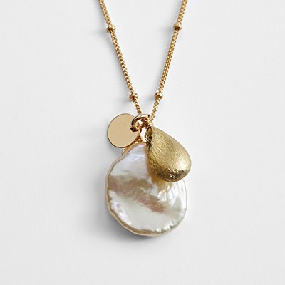 Mabel Chong Keshi Pearl Necklace