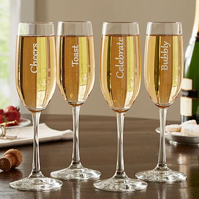 Cheers! Champagne Flutes