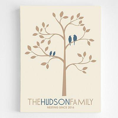 Family Tree Wall Art - 18x24