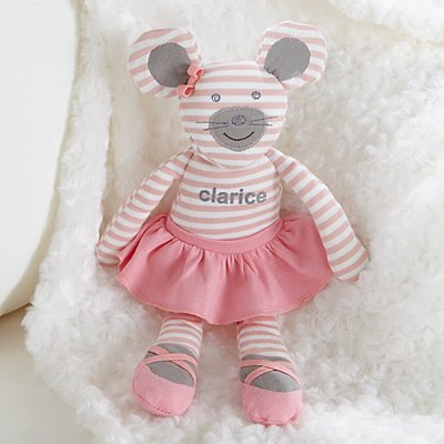 Ballerina Mouse Plush