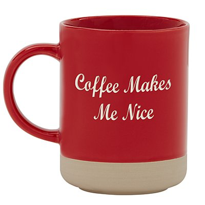 Personally Yours Stoneware Mug - Red - Any Message