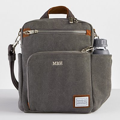 Canvas & Suede Anti-Theft Travel Tour Bag
