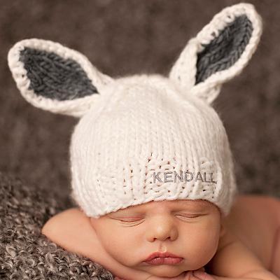 Knit Bunny Hat