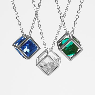 Anniversary Stone Necklace