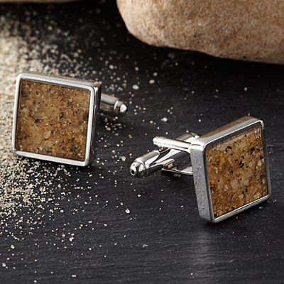 Say It With Sand Cufflinks