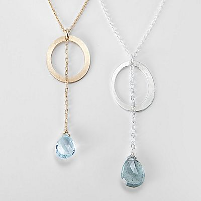 Mabel Chong Glimmer Birthstone Necklace