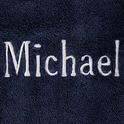 Men's Five-Star Plush Robe - Name - M/L