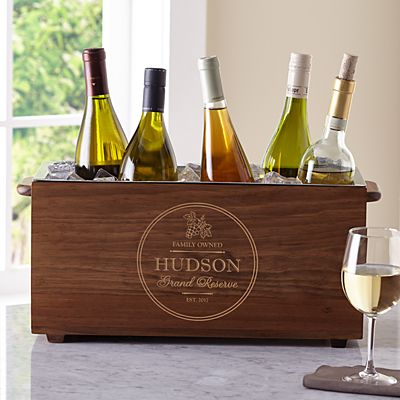 Grand Reserve Wooden Wine Chiller