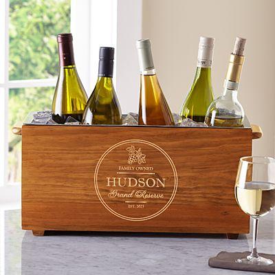 Grand Reserve Wooden Wine Chiller