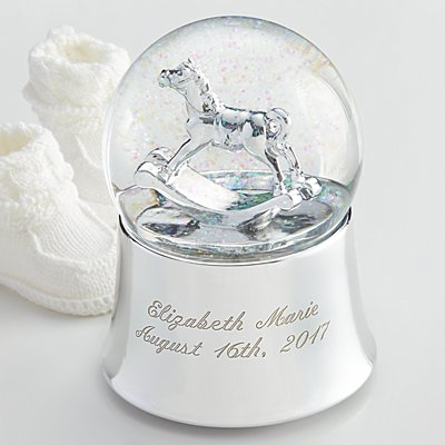 Rocking Horse Snowglobe