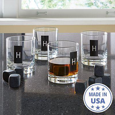 Double Old Fashioned Set + Whiskey Stones