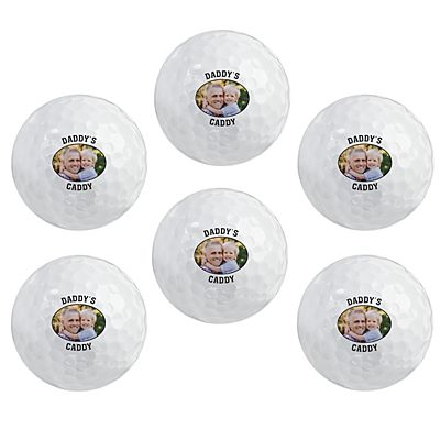 Picture Perfect Photo Golf Balls with Message - Set of 6