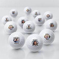 Picture Perfect Photo Golf Balls