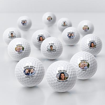 Photo + Message Golf Balls
