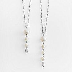 Motherhood Pearl Drop Necklace